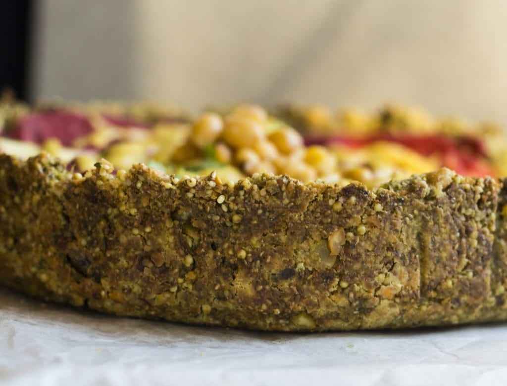 falafel pizza 4