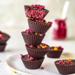 Vegan Cherry Ripe Cups