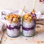 Apple and blueberry overnight oats