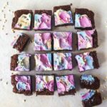 The Best Rainbow Vegan Brownies