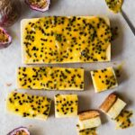Vegan Passionfruit Vanilla Bars