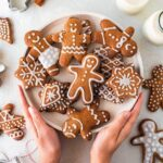 Vegan gingerbread (refined sugar free)