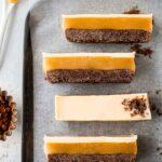 Reverse Caramel Slice (vegan)
