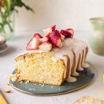 Easy Vegan Lemon Drizzle Cake