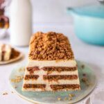 Gingerbread custard tiramisu terrine