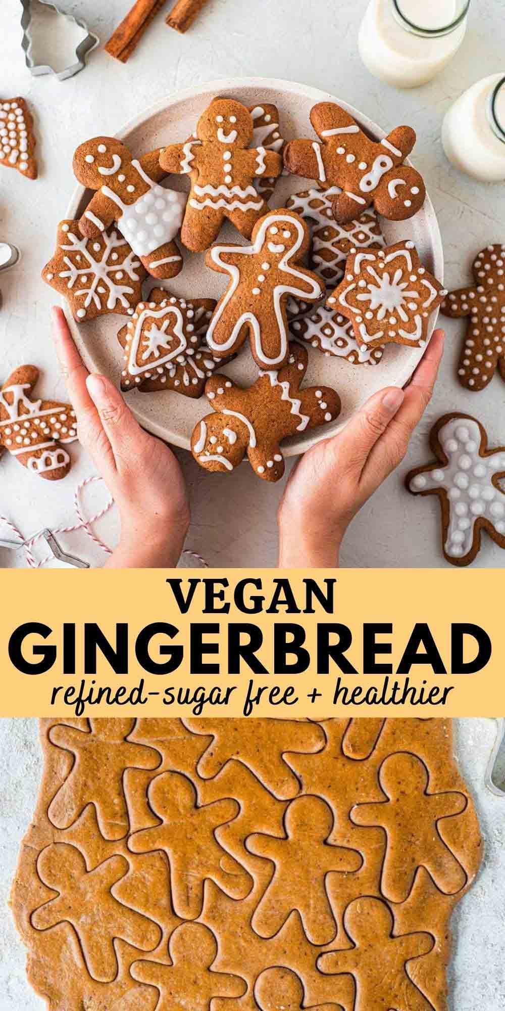 Vegan gingerbread (refined sugar free)
