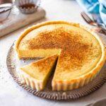 Creamy Vegan Custard Tart