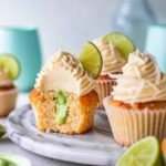 Vegan Coconut Lime Cupcakes