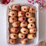 Vegan Air Fryer Donuts with Jam