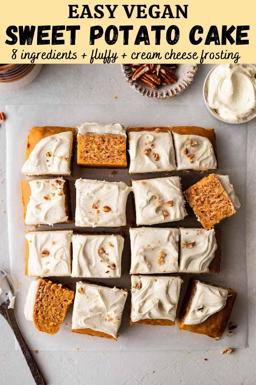 Easy Vegan Sweet Potato Cake
